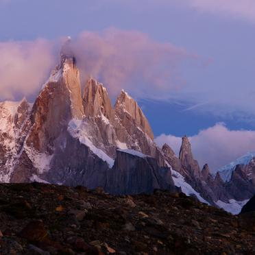 Cerro Torre at down