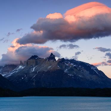 Clouds over Quernos del Paine