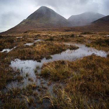 Bogs at the foot of Glamaig