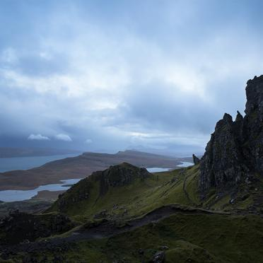 Evening at Old Man of Storr