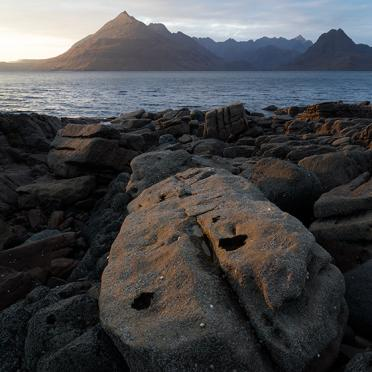 Stone on Elgol shore