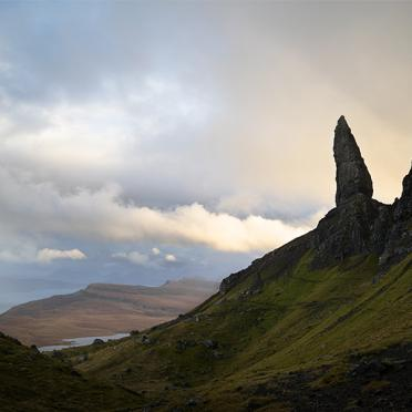 Sunset at Old Man Of Storr