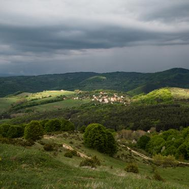Clouds over Jeleznitza village